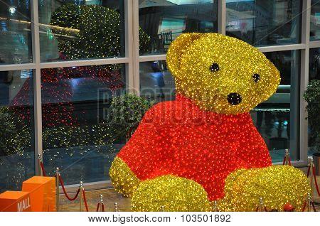Teddy Bear at Festival Centre Mall in Dubai, UAE