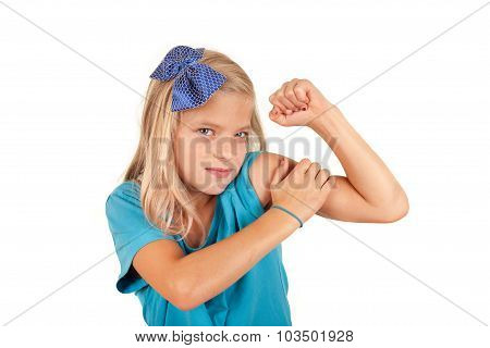 We Can Do It - Small Girl Imitates The Famous Poster
