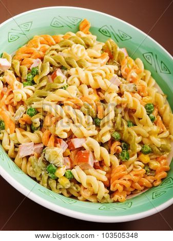 Pasta Collection - Fusilli With Peas And Ham