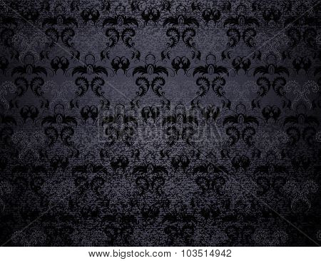 Dark Patterned Background