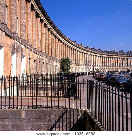 The Royal Crescent, Bath.