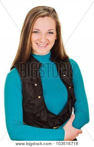 Happy Beautiful Woman portrait