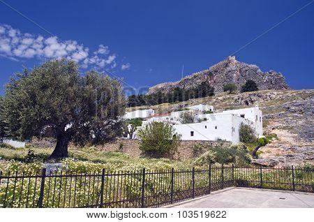 Fortress In  Lindos Resort, Rhodes Island