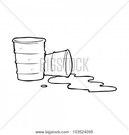 simple black and white line drawing cartoon  office coffee