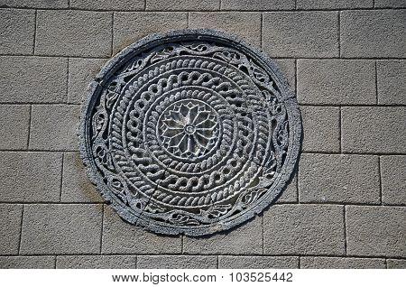 Ornamental Stone Carving In Greece