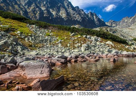 Lake in High Tatras, Slovakia