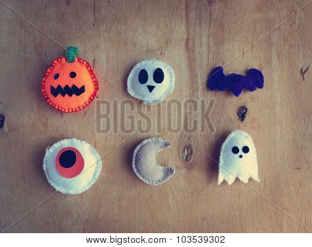 Soft toys decorations for Halloween