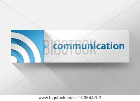 3D Communication Flat Design, Illustration