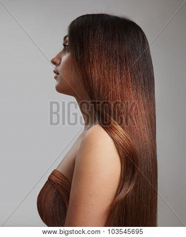 Healthy Redhead Hair