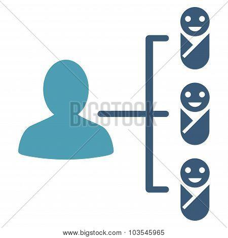 Children Links Icon
