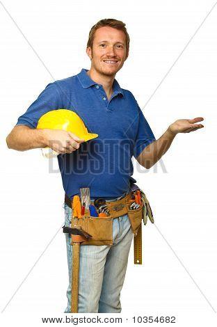 Handyman Show Gesture