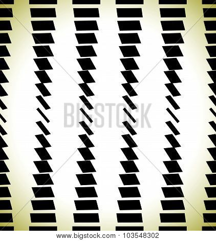 Abstract Pattern With Rectangles, Bars. Repeatable At Edges.