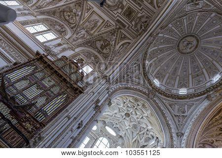 Interior Of Mezquita-catedral, Unesco World Heritage Site, Cordoba, Spain
