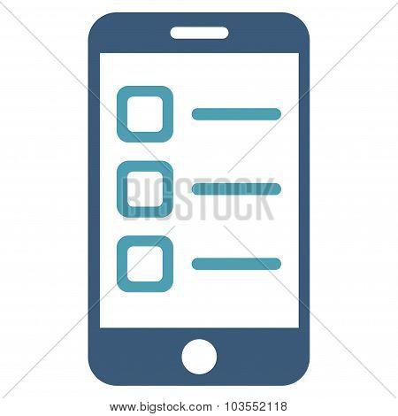 Mobile List Icon
