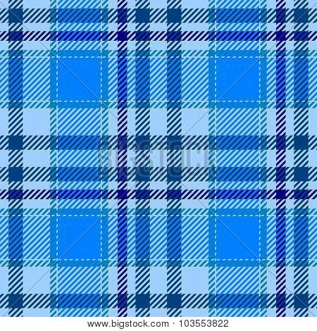 Light Blue Tartan Plaid Seamless Pattern Texture