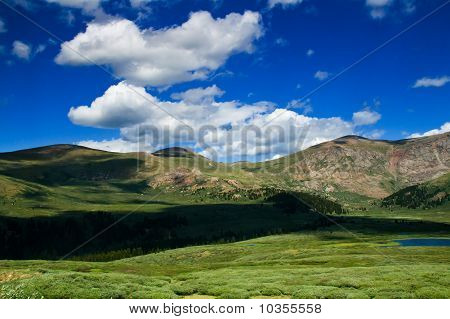 Clouds Along The Colorado Mountains