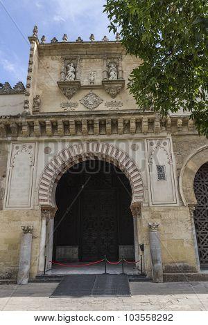 Exterior Of Mezquita-catedral,  Unesco World Heritage Site, Cordoba, Spain