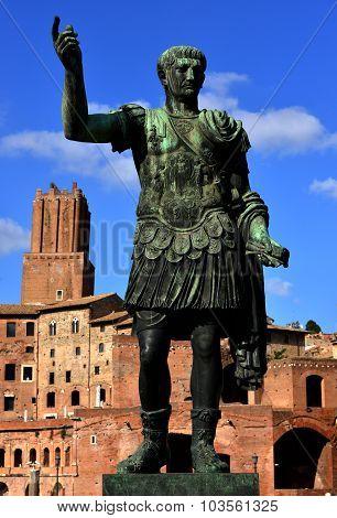 Caesar Augustus Traianus The Victorious