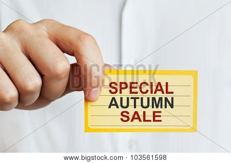 Special Autumn Sale