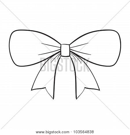 sketch bow