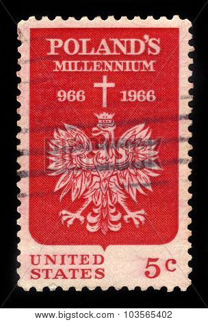 Polish Eagle And Cross