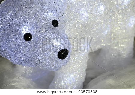 Bright Glass Polar Bear