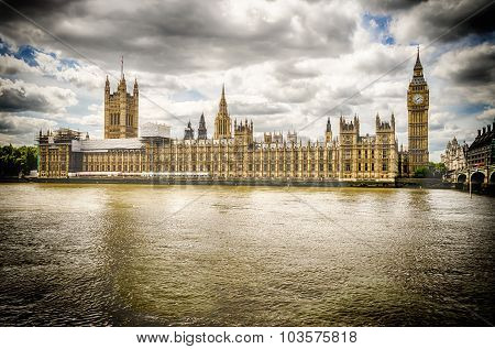 Palace of Westminster Houses of Parliament London
