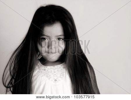 Nice Glamour Image of a Young Latino girl