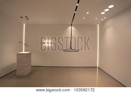 Light in modern  interior