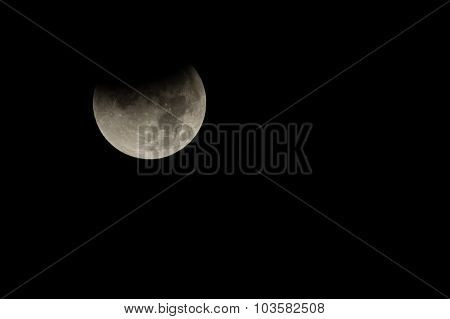 Moon, Total Lunar Eclipse