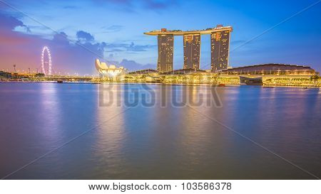 Marina Bay Sands Casino In Singapore City