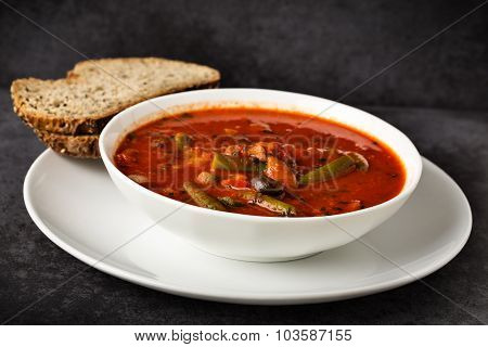 Italian Soup With Veggies