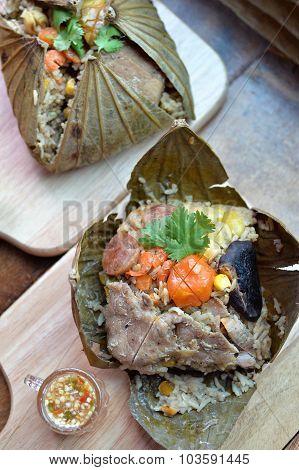 Lotus Leaf Rice