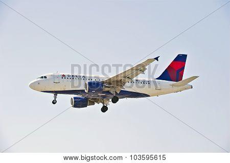 Delta Airlines Commercial Jet