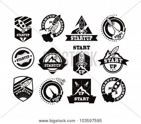 Set Of Rockets Icon