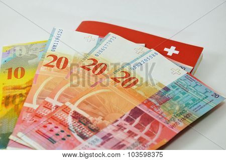 Swiss banknote