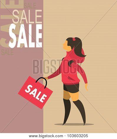 Seasonal Sale Girl