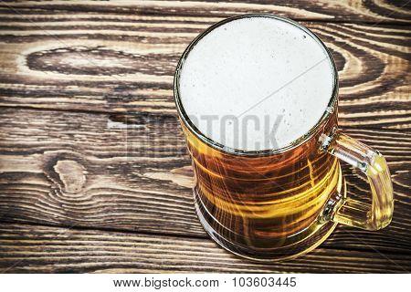 Glass Of Fresh Lager Beer
