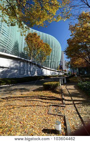 Exterior Of National Art Center In Tokyo