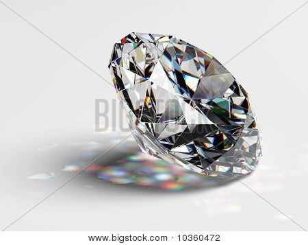 Diamond Jewel With Caustics
