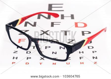 Eye Care With Glasses
