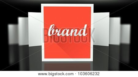 Brand Sign Exhibition Gallery Stand Walls