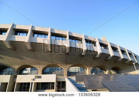 Tokyo, Japan - November 20, 2013: Yoyogi National Gymnasium
