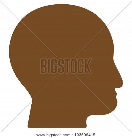 Bald Head Icon
