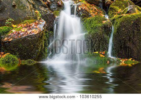 Beautiful Autmn Waterfall