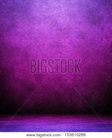 purple interior background