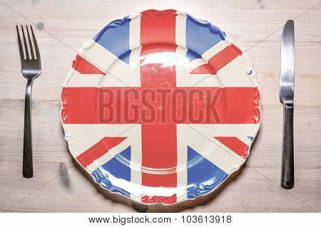 Dinner Plate United Kingdom
