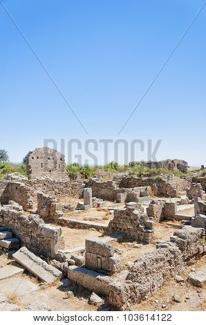 Side Ancient Shop Ruins