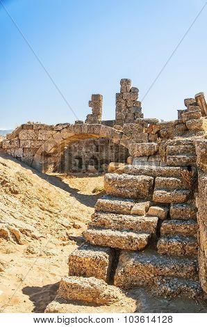 Side East Necropolis Ancient Ruins