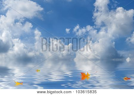 Background With Amazing Clouds